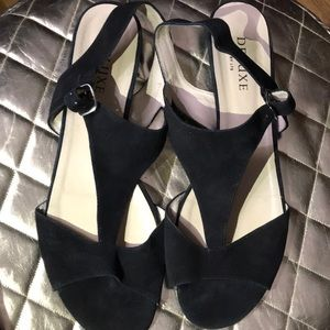 Beautiful soft black suede upper